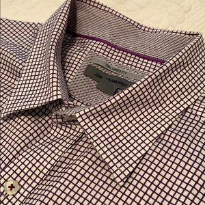 XXL Tailored Fit Johnston & Murphy Dress Shirt